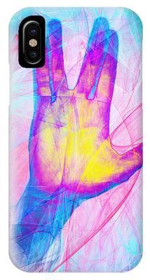 Live Long And Prosper 20150302v1 IPhone Case
