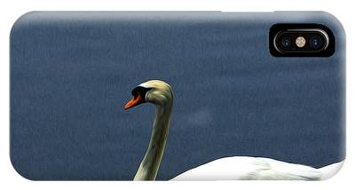 Lonesome Swan IPhone Case