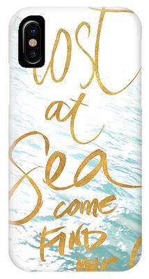 Lost At Sea Phone Cases