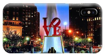 Love Statue Phone Cases