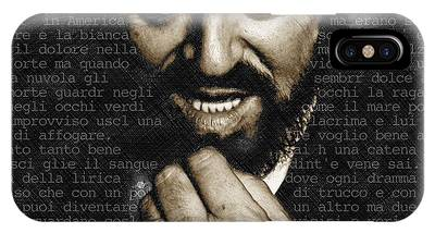 Luciano Pavarotti IPhone Case