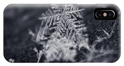 Macro Snowflake IPhone Case