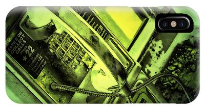 Make The Call IPhone Case