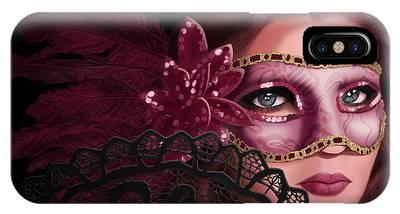 Masked I IPhone Case
