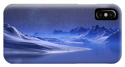 Midnight Snow IPhone Case