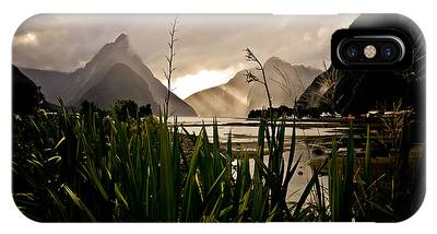 IPhone Case featuring the photograph Milford Sound by Chris Cousins
