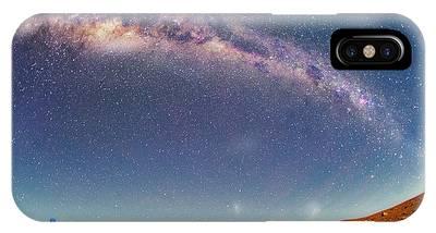 Milky Way Over The Atacama Desert Phone Case by Juan Carlos Casado (starryearth.com)