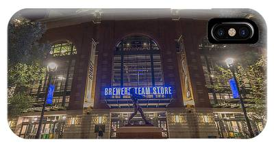 Milwaukee Brewers Miller Park 2 IPhone Case