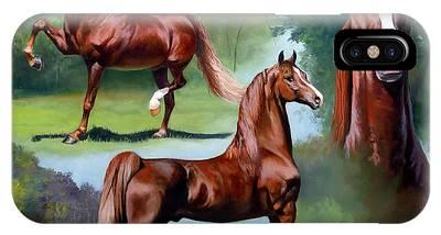 Morgan Horse Phone Cases