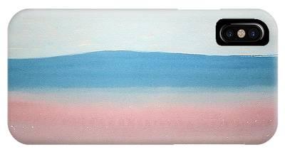 Misty Lake Original Painting IPhone Case