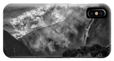 IPhone Case featuring the photograph Misty Milford by Chris Cousins