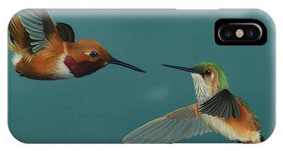Monty And Tiffany IPhone Case