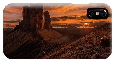 Mountain Sunset Phone Cases