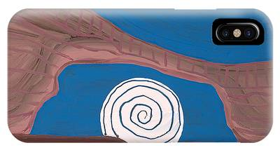 Moonscape Original Painting IPhone Case