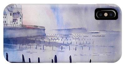 Morning Mist At Sandsend IPhone Case