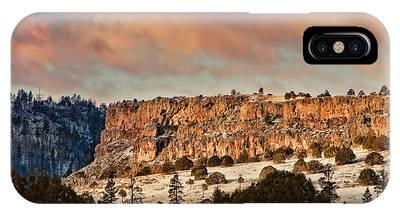 Morning Sun On The Ridge IPhone Case