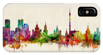 Moscow Skyline iPhone Cases