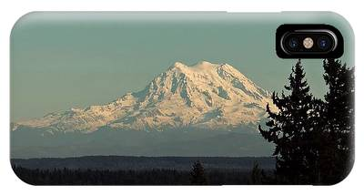IPhone Case featuring the photograph Mount Rainier by Patricia Strand