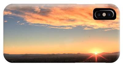 Mount Soledad Panoramic Sunrise IPhone Case