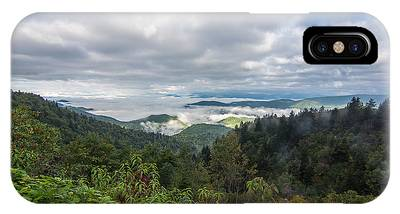 IPhone Case featuring the photograph Mountain Fog by Francis Trudeau