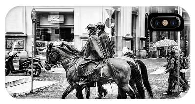 Mounted Patrol IPhone Case