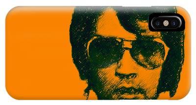 Mugshot Elvis Presley Square IPhone Case