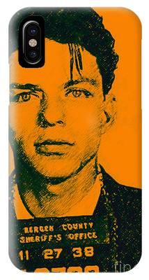 Mugshot Frank Sinatra V1 IPhone Case