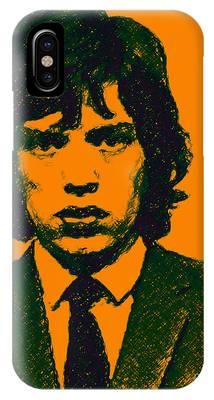 Mugshot Mick Jagger P0 IPhone Case