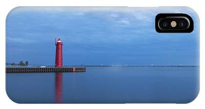Muskegon Lighthouse Phone Cases