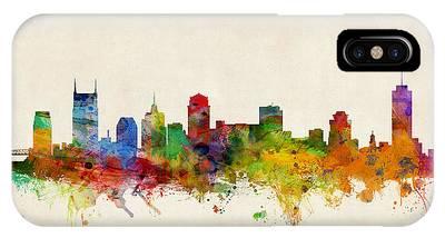 Nashville Tennessee Skyline IPhone Case