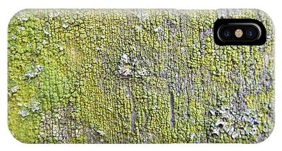 Natural Abstract 1 Old Fence With Moss IPhone Case