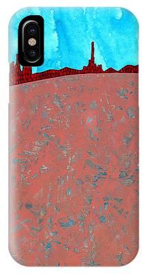 Needles And Dunes Original Painting IPhone Case