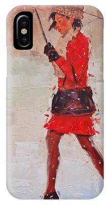 Red Dress Phone Cases