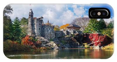 New York City Central Park Belvedere Castle IPhone Case