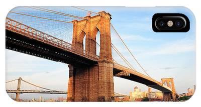 New York City Manhattan Brooklyn Bridge IPhone Case