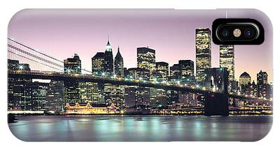 Twin Towers Nyc Photographs iPhone Cases