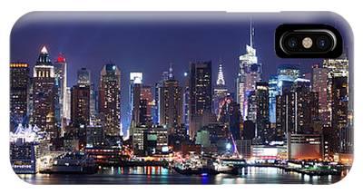 New York City Skyline Panorama IPhone Case