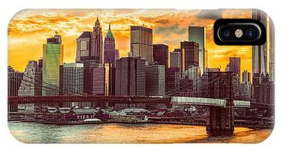 New York City Summer Panorama IPhone Case