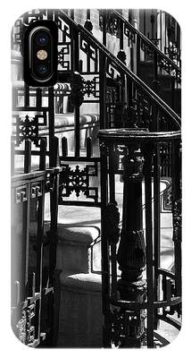 IPhone Case featuring the photograph New York City Wrought Iron by Rona Black