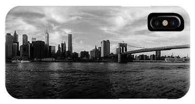 New York Skyline Photographs iPhone X Cases