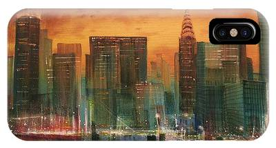 City Scene IPhone Cases