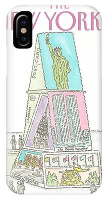 The Twin Towers Of The World Trade Center iPhone Cases