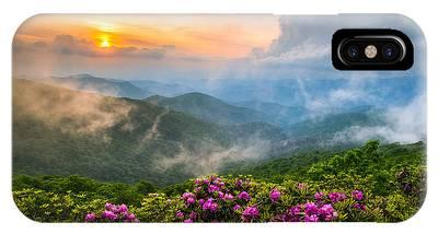 North Carolina Mountains Phone Cases