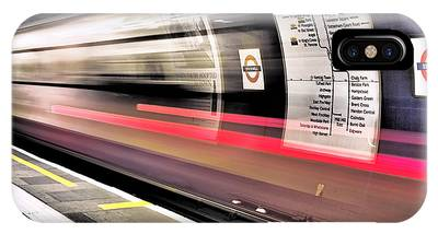 IPhone Case featuring the photograph Northbound Underground by Rona Black