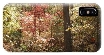 Oak Creek Arizona Fall Foliage IPhone Case