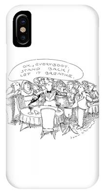 Wine Service Phone Cases