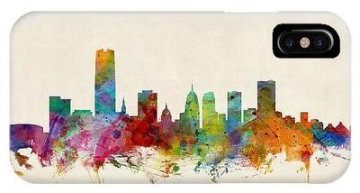 Oklahoma City Skyline IPhone Case