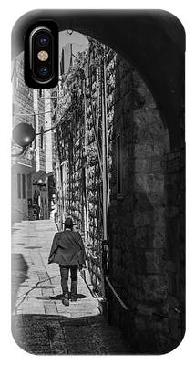 Old City Jerusalem Streets IPhone Case