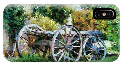 Old Horse Cart IPhone Case