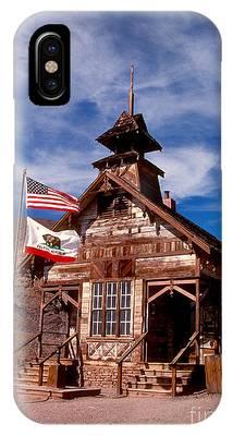Old West School Days IPhone Case